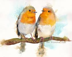 """Résultat de recherche d'images pour """"joli dessin pastel oiseaux"""""""